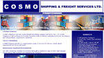 Cosmo Shipping & Freight - click to visit website